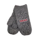 Knit mittens. one size