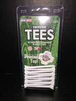 Hiram College golf tees 10 pack