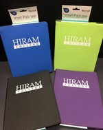 iPad smart case Hiram imprint