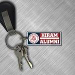 Hiram Alumni key tag
