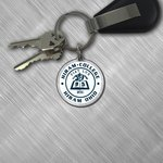 Round Hiram seal key tag