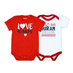 GARB infant girls Tonya onesie 2-pack