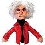 Finger puppet Warhol