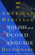 English as a second language dictionary