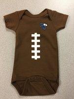 Baby football onesie