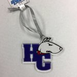 Etched ornament - HCdog