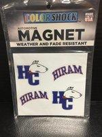 Hiram mini magnet 4 pack