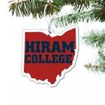 State of Ohio acrylic ornament