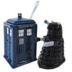 Dr Who cream & sugar set