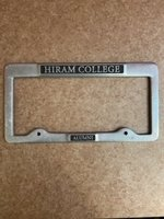 Heavy license plate frame