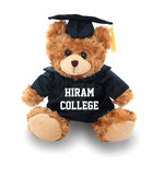 "Beige 12"" Grad Bear with cap & gown"
