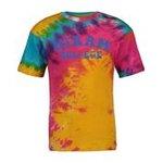 MV tie dye tee - rainbow swirl