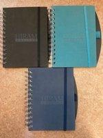 Embossed spiral journalbook with pen loop