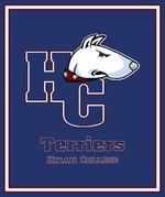 Terrier logo throw